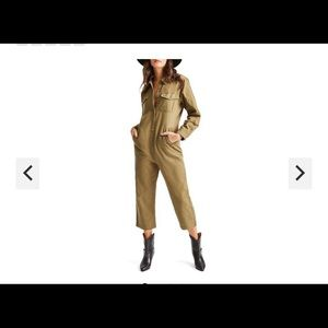 Brixton Melbourne Crop Overall Womens Jumpsuit